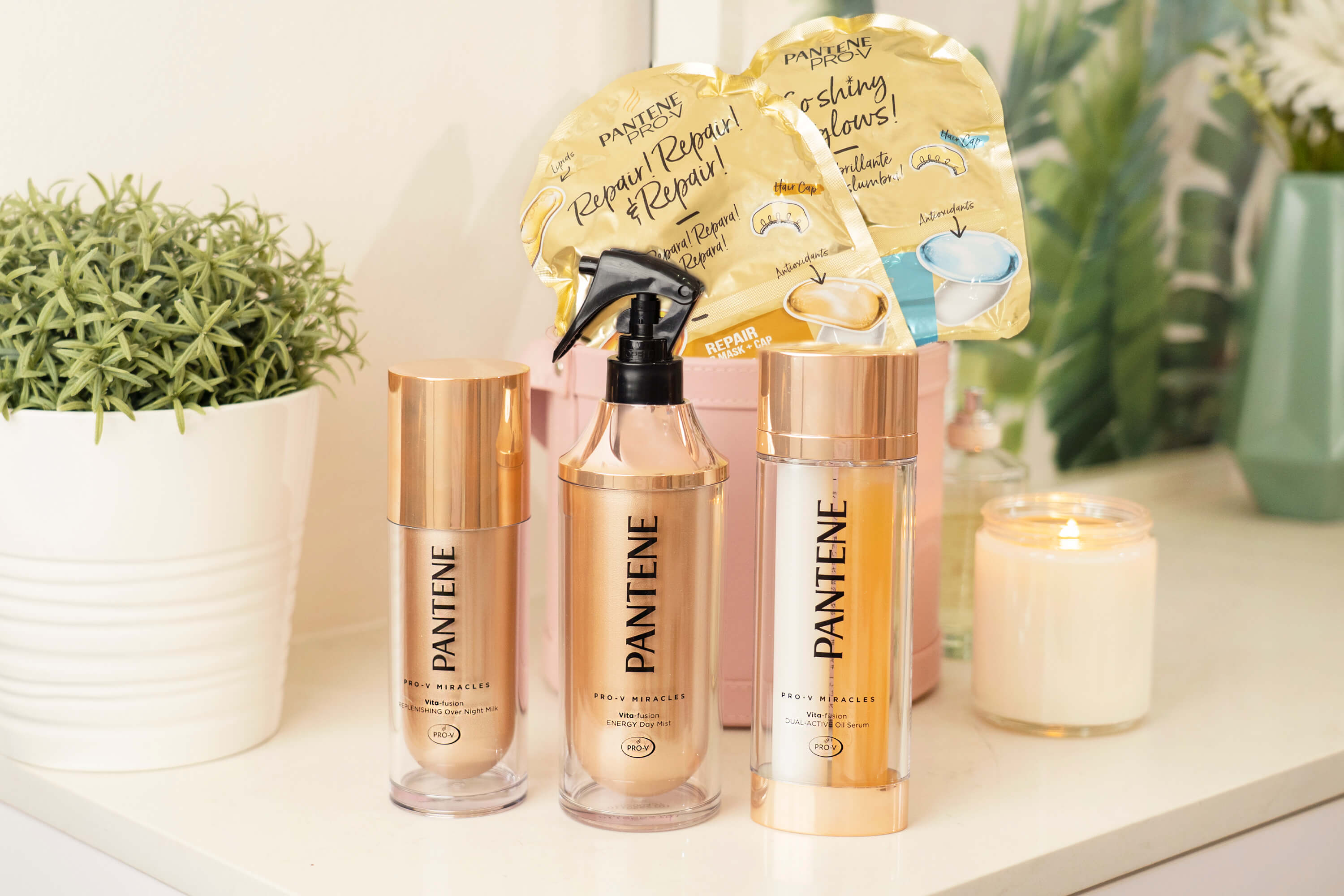 Pantene Miracles Hair Treatment range